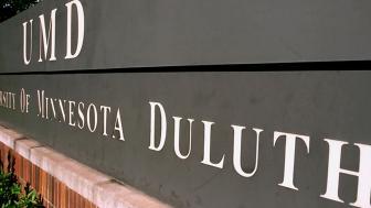 UMD's exterior sign