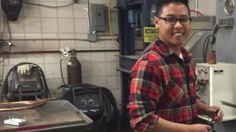 UMD student Richie Vang