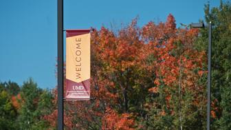 UMD welcome banner