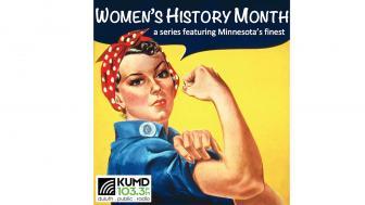 UMD KUMD Women's History Month logo