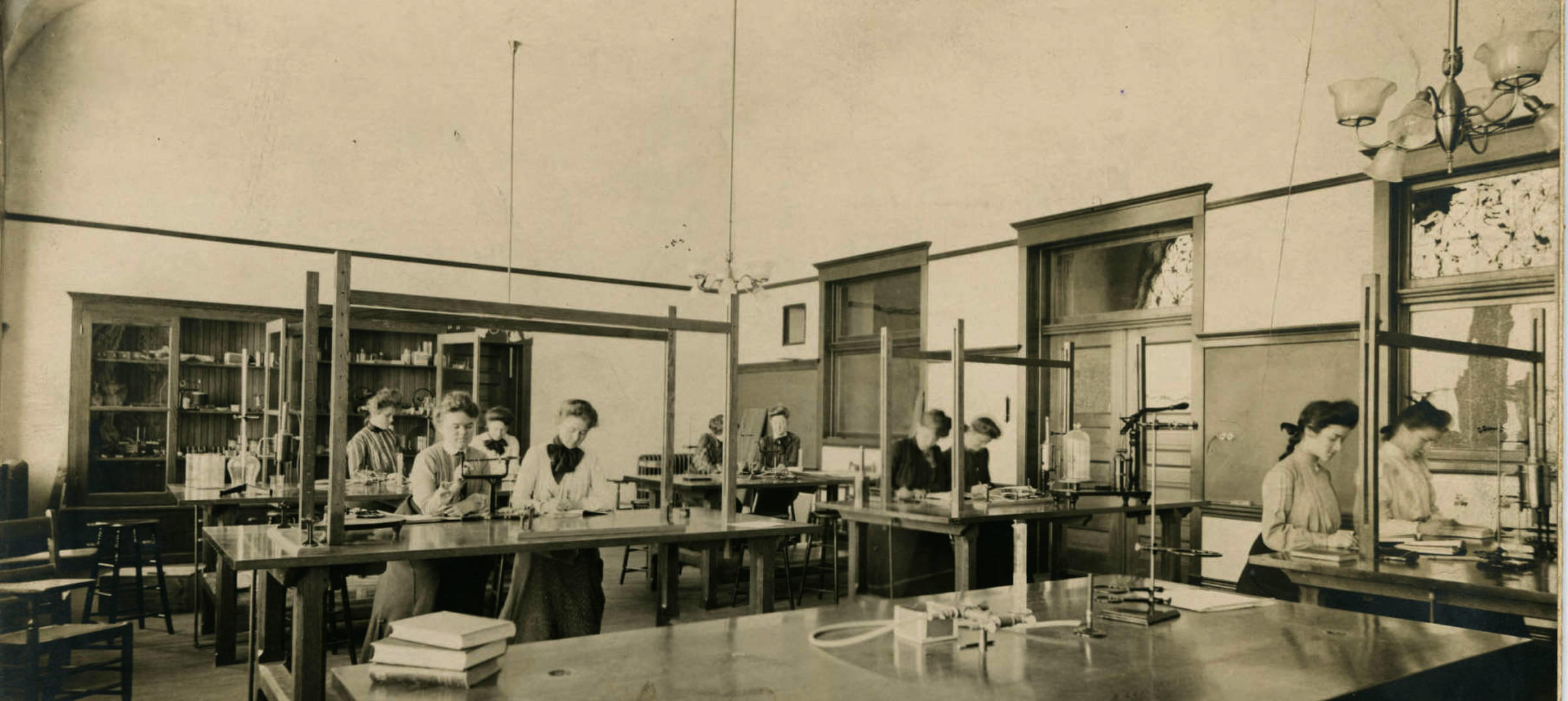 Old Main Science Classroom