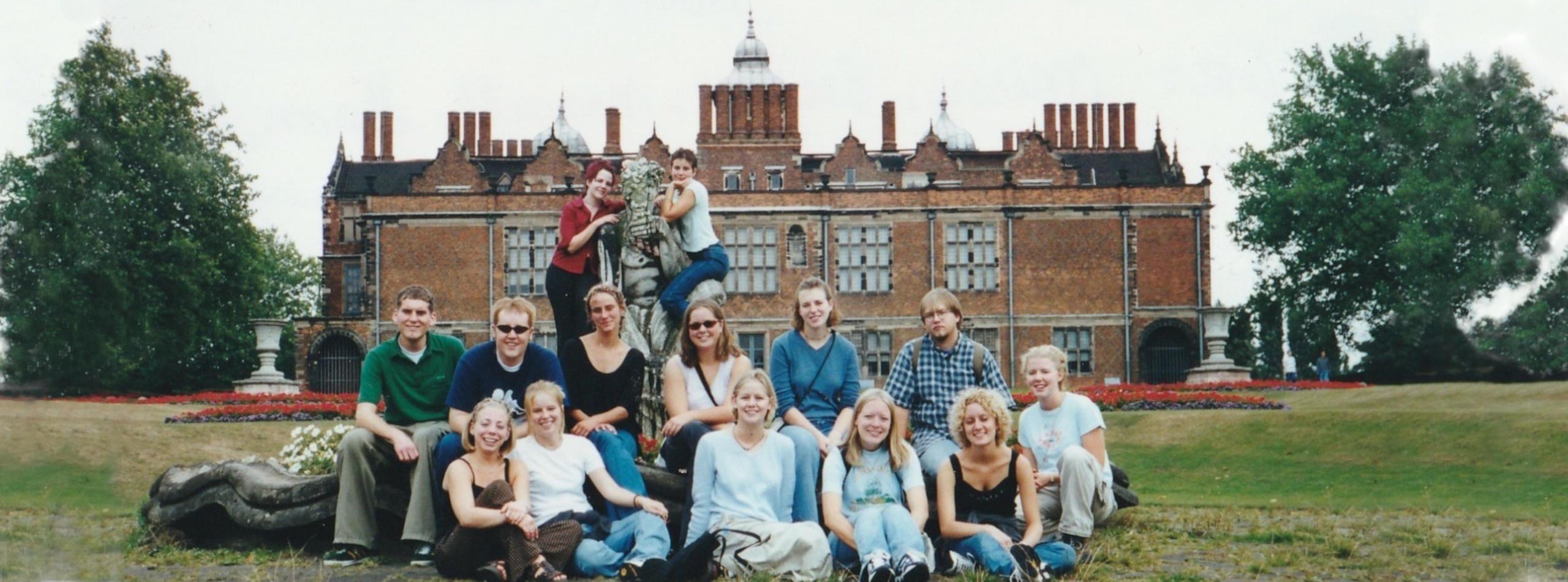 Students at the Jacobean Ashton House
