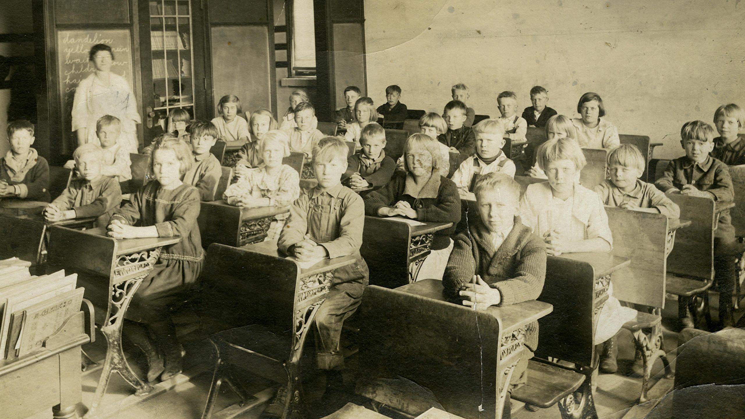 Lincoln School third grade.