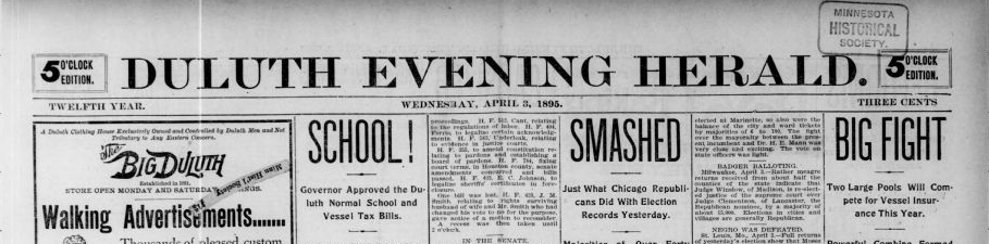 Duluth Evening Herald