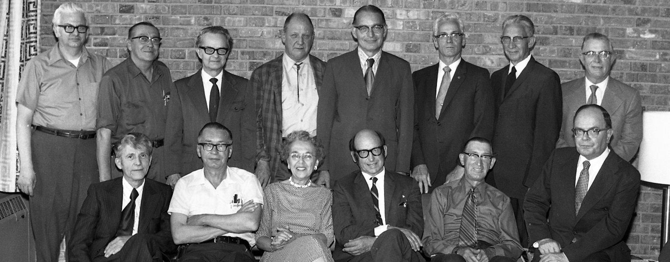 1972 faculty