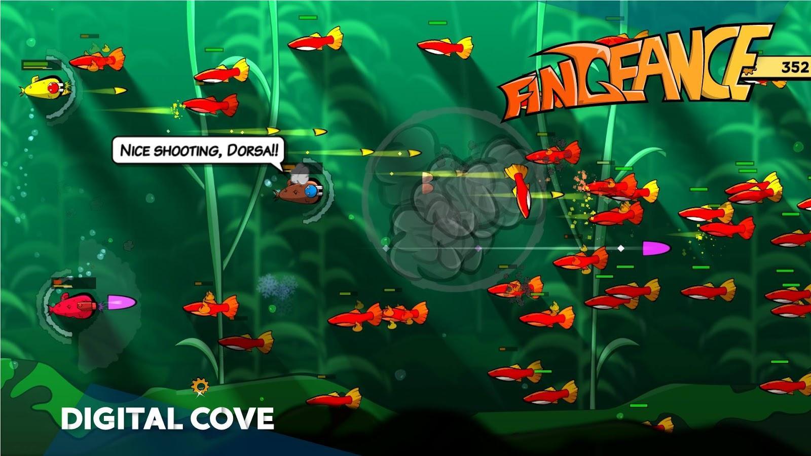 Screen shot of video game