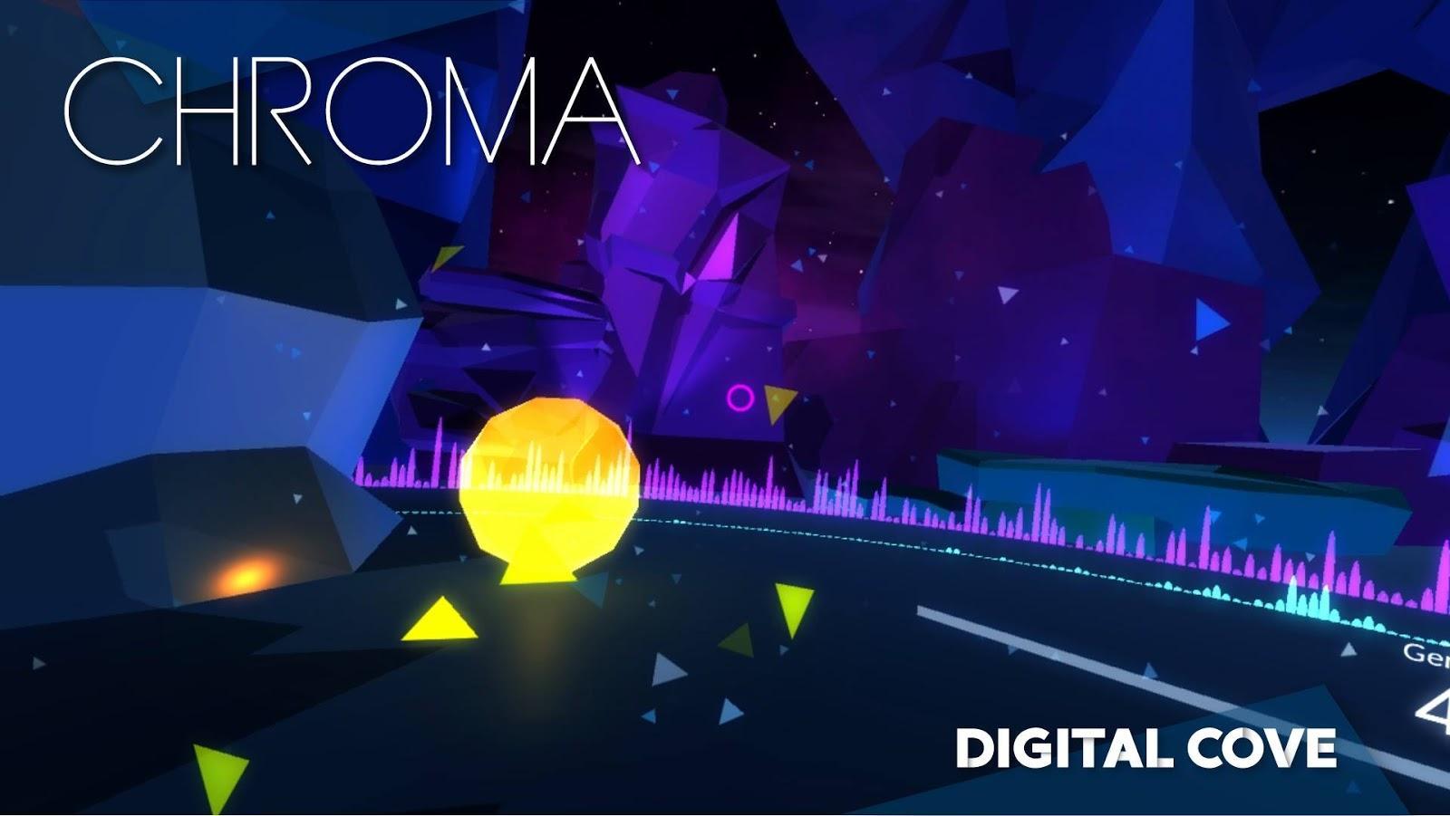 Screen shot of video game CHROMA