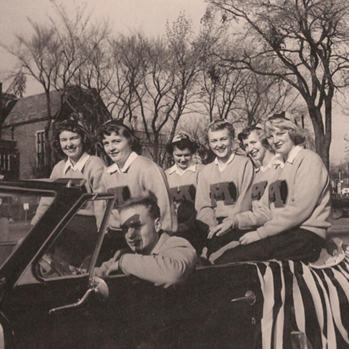 UMD Homecoming 1952