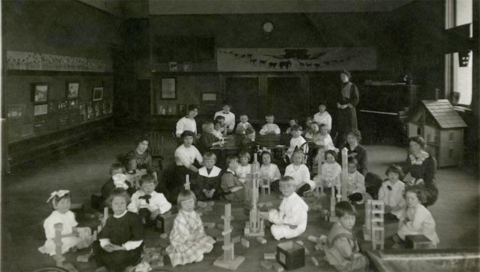 Children at Model School