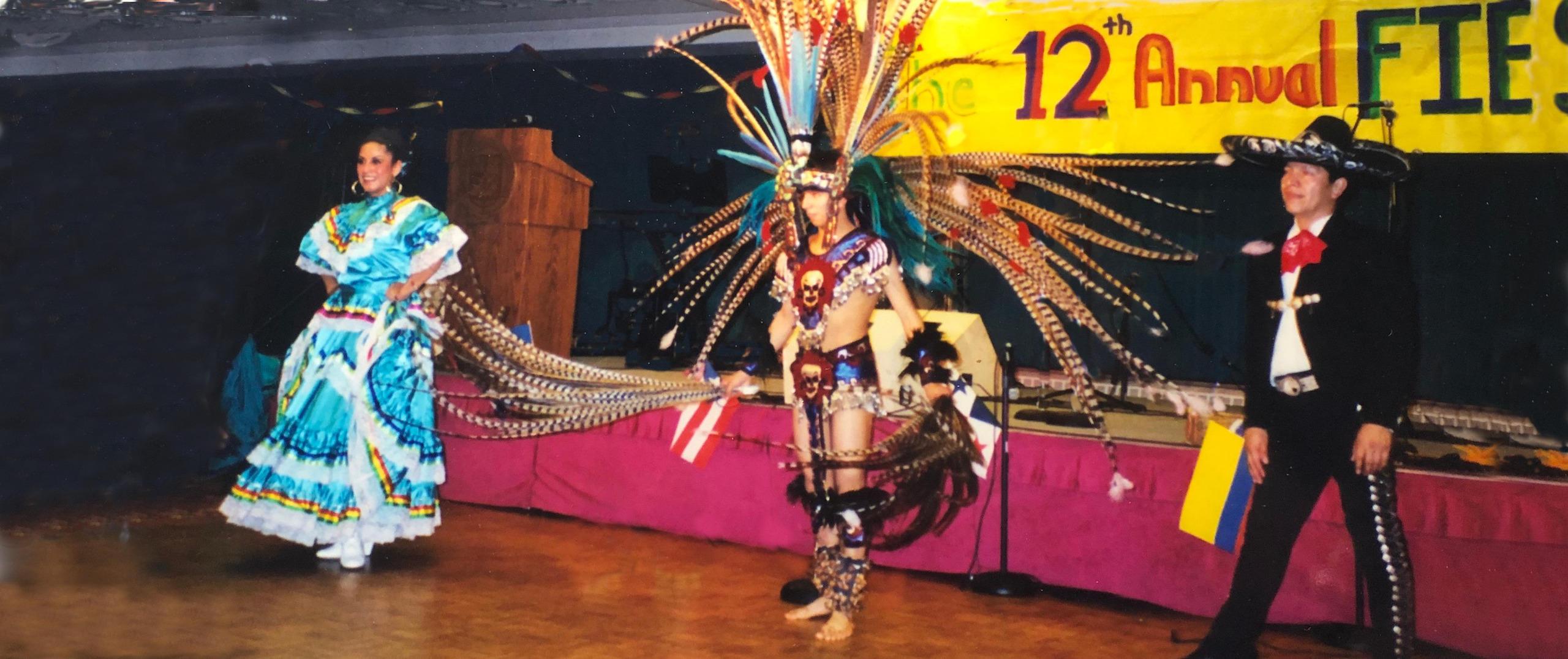 dancers at a fiesta