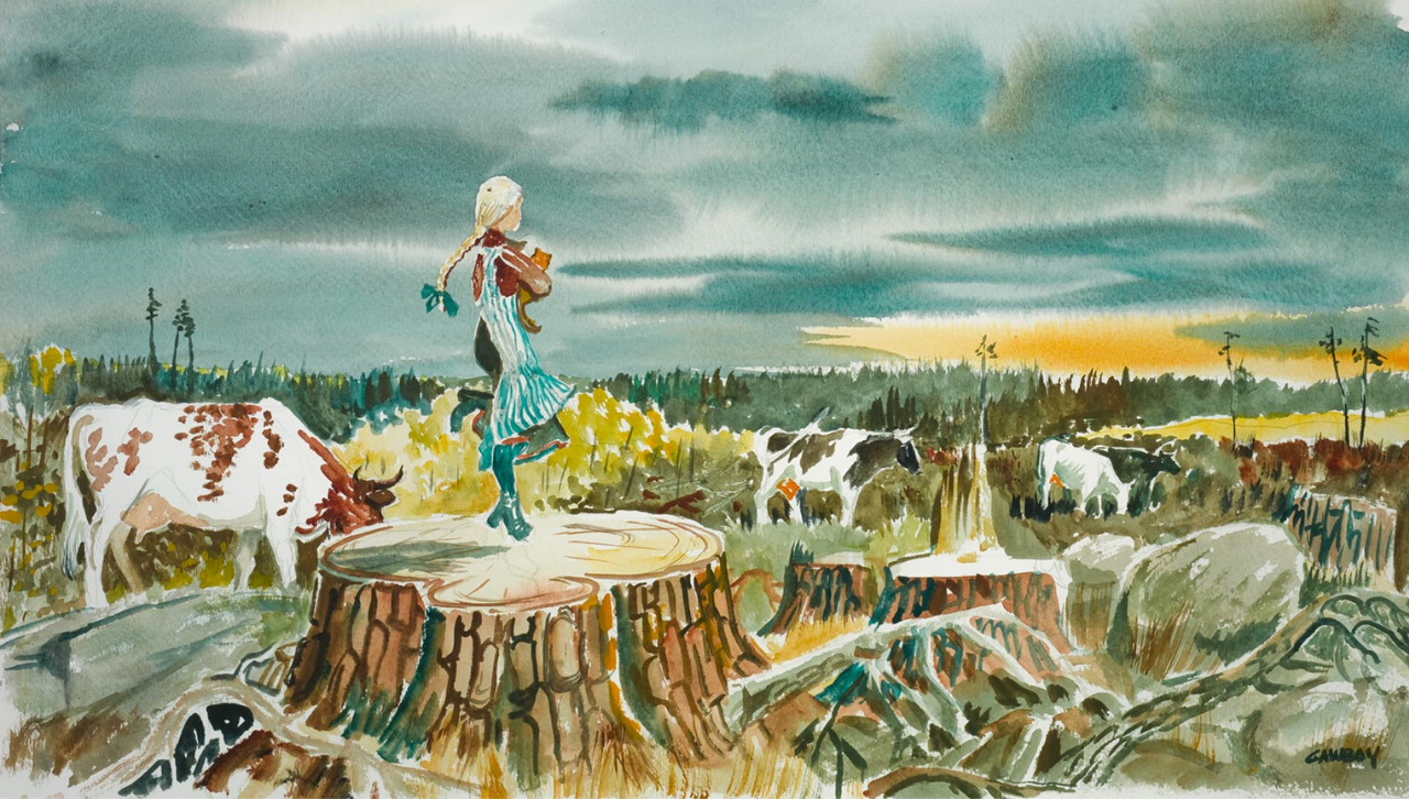 Hemi Skipping by Carl Gawboy