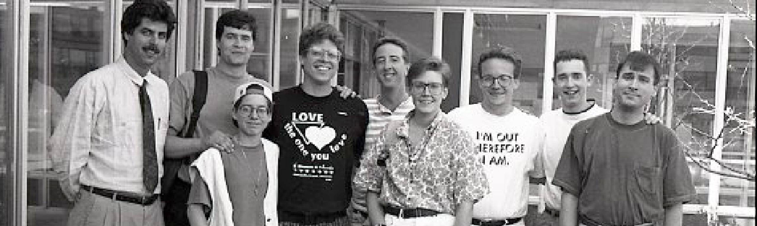 1993 Gay Lesbian Coalition students