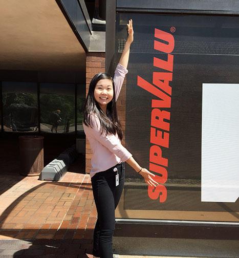 UMD student Maggie Zheng