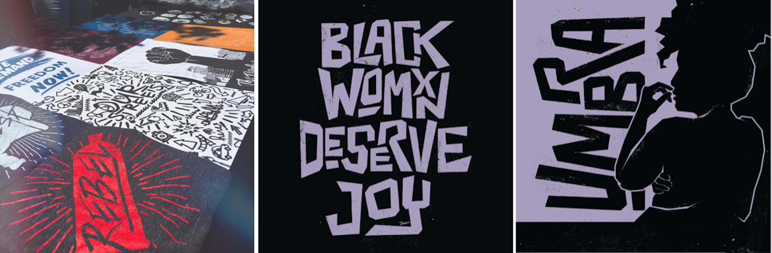Blackbird Revolt graphic design images