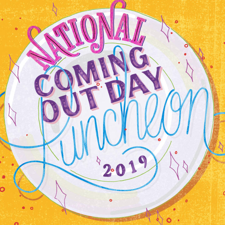 Graphic for UMD's Coming Out Day Luncheon