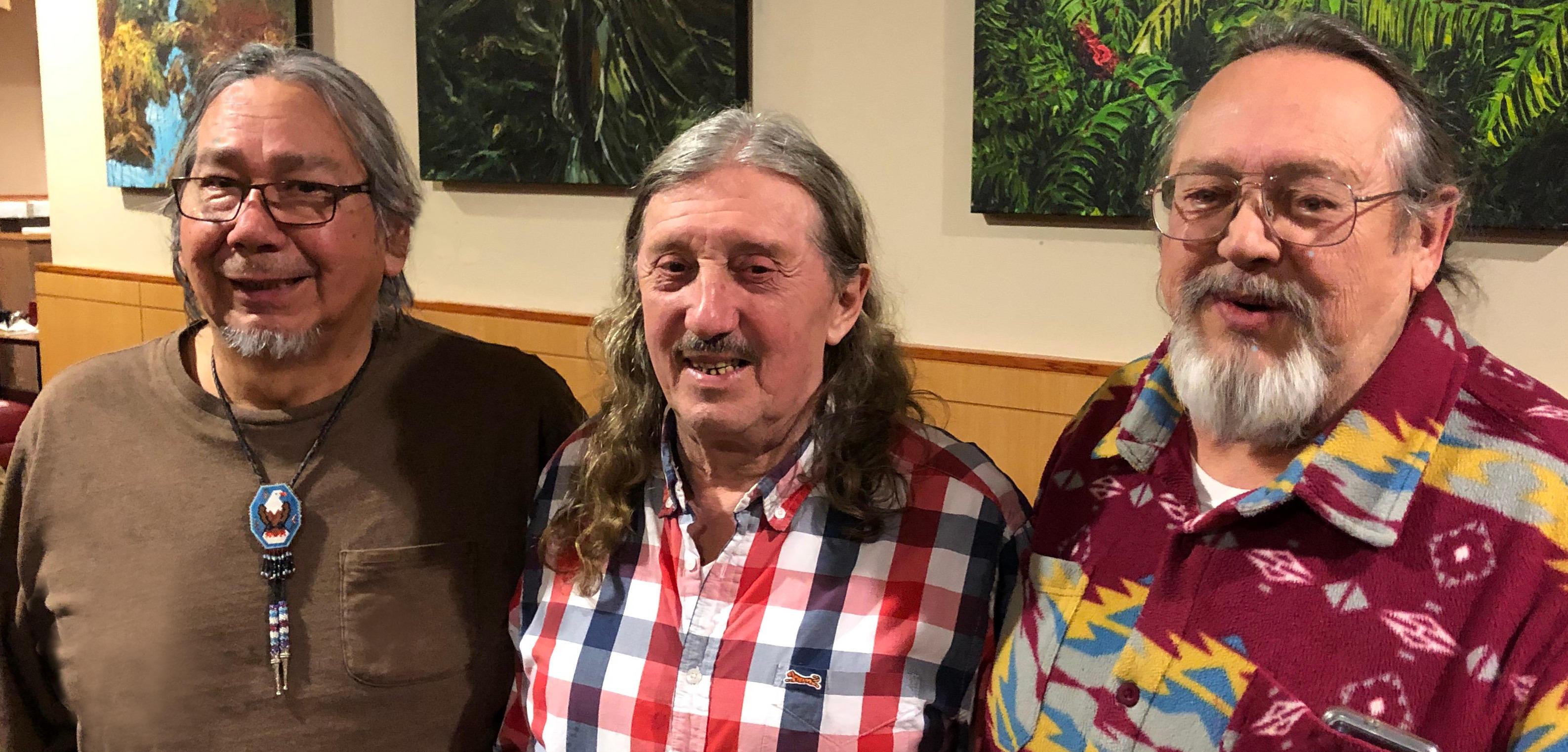 David Niib Aubid, Vern Zacher and Jeff Savage