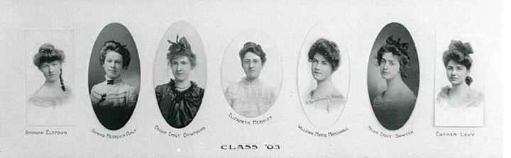 First graduating class of the State Normal School at Duluth