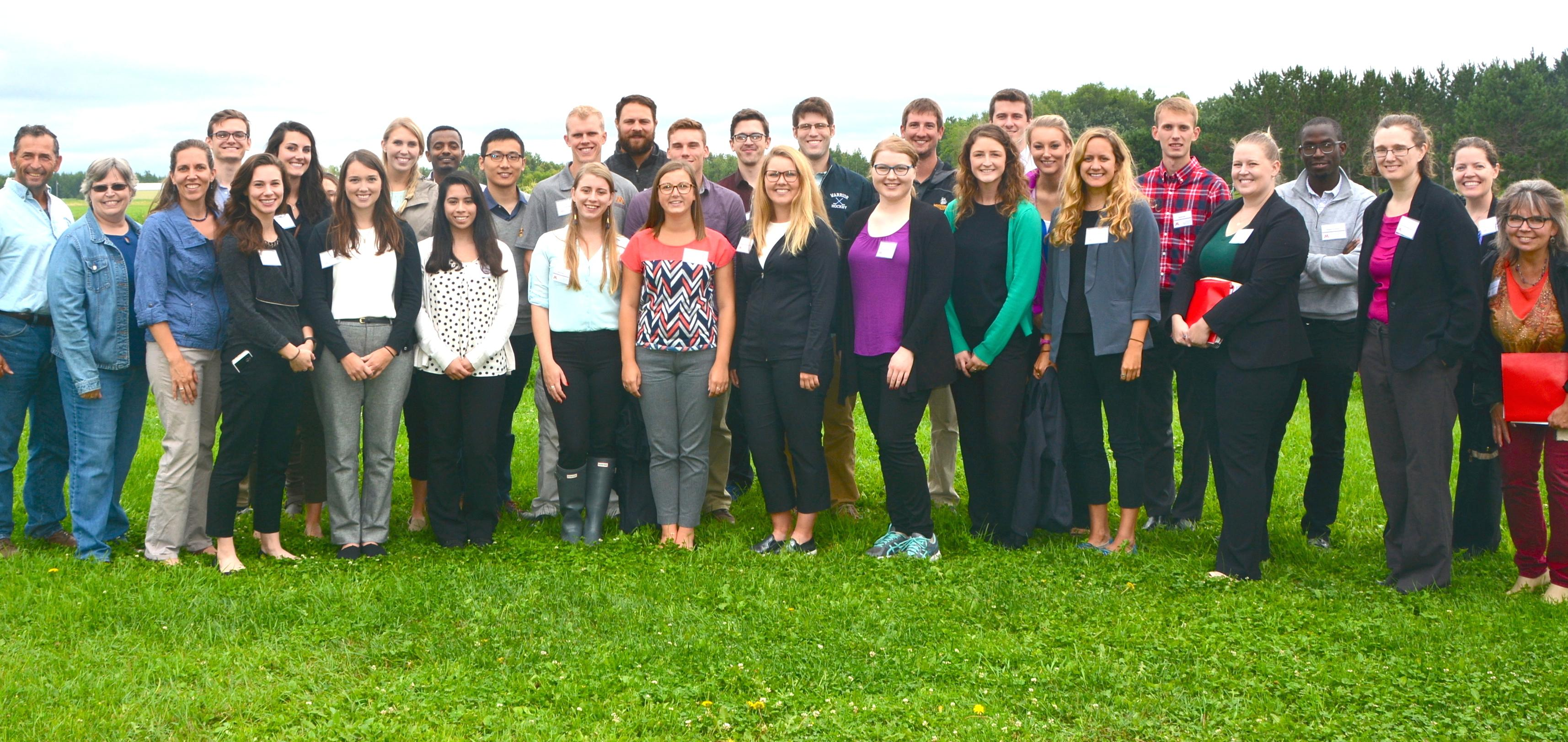 Pharmacy and medical school students traveled to northern Minnesota to learn about caring for rural clients,