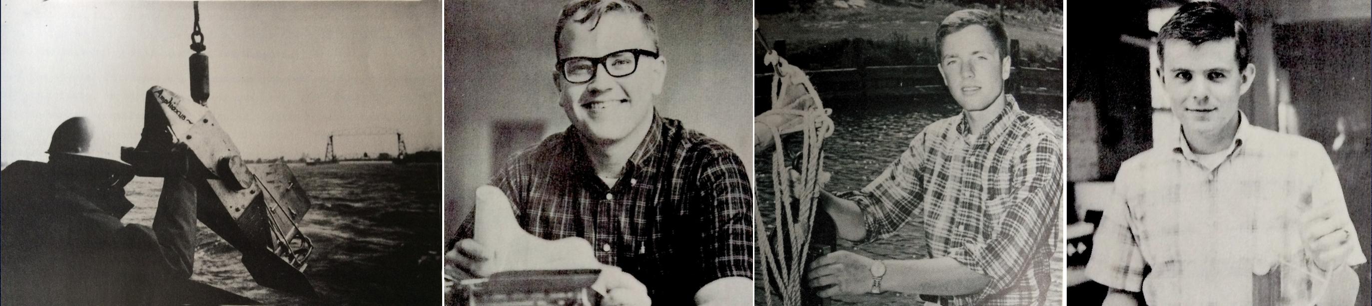 continous plankton recorder, archie, jon, and ed
