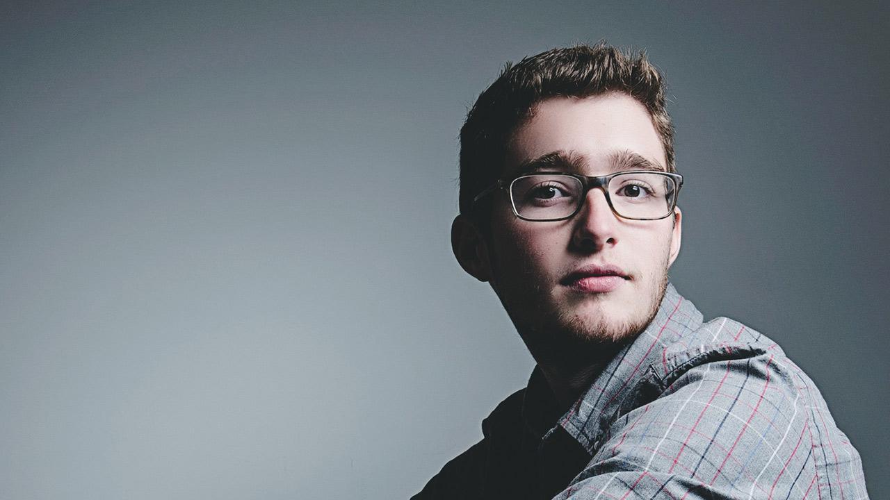 UMD student Ian Deloney