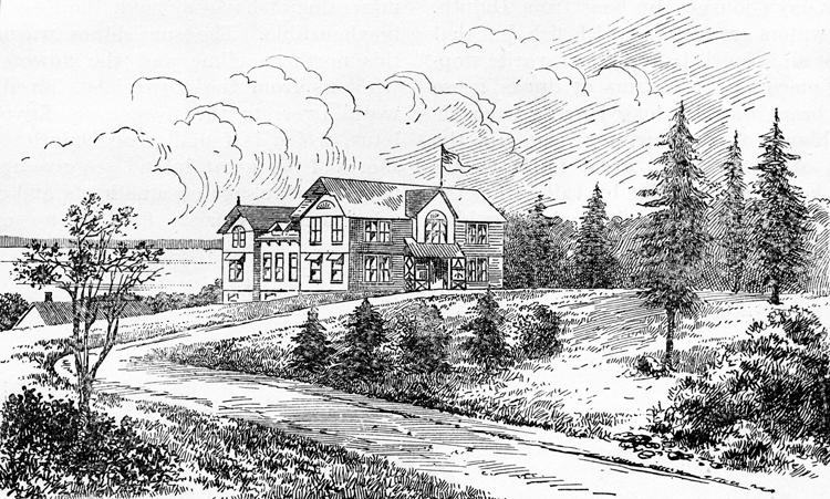 Drawing of the Fish Hatchery