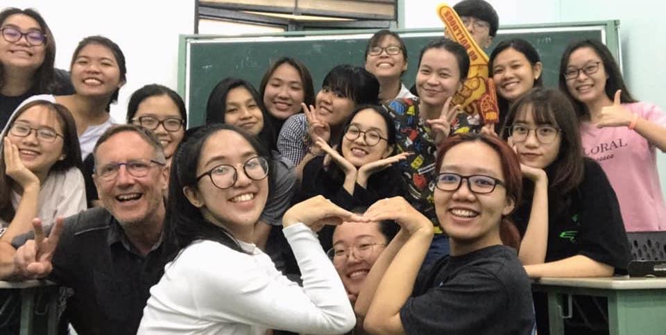 The journalism class