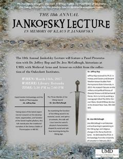 UMD Jankofsky poster
