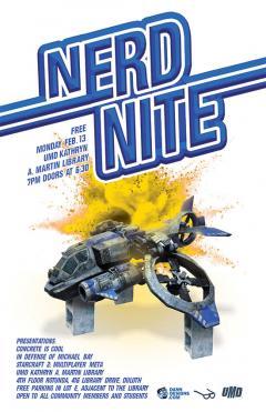 UMD Nerd Nite poster
