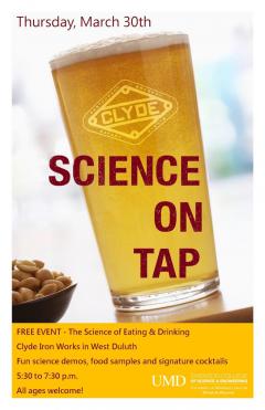 UMD SCSE Science on Tap